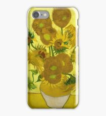 Vincent Van Gogh  - Sunflowers, 1889 iPhone Case/Skin