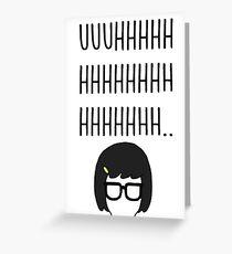 Tina Belcher - Bobs Burgers Greeting Card