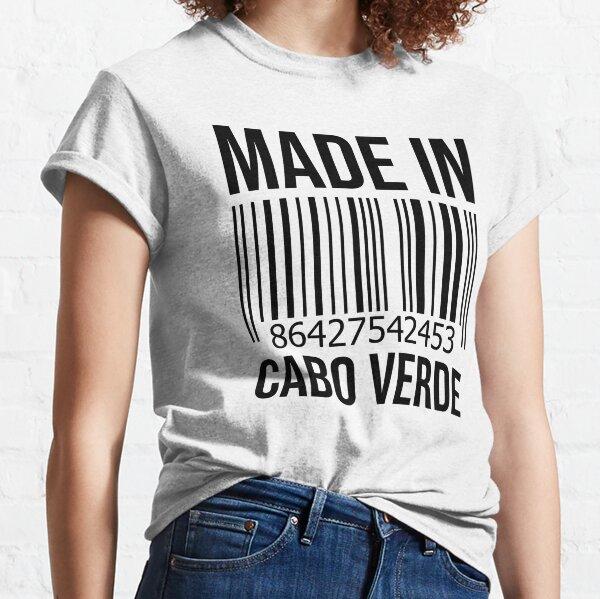 Fabriqué au Cabo Verde T-shirt classique