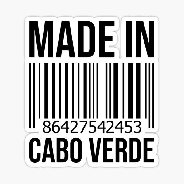 Fabriqué au Cabo Verde Sticker