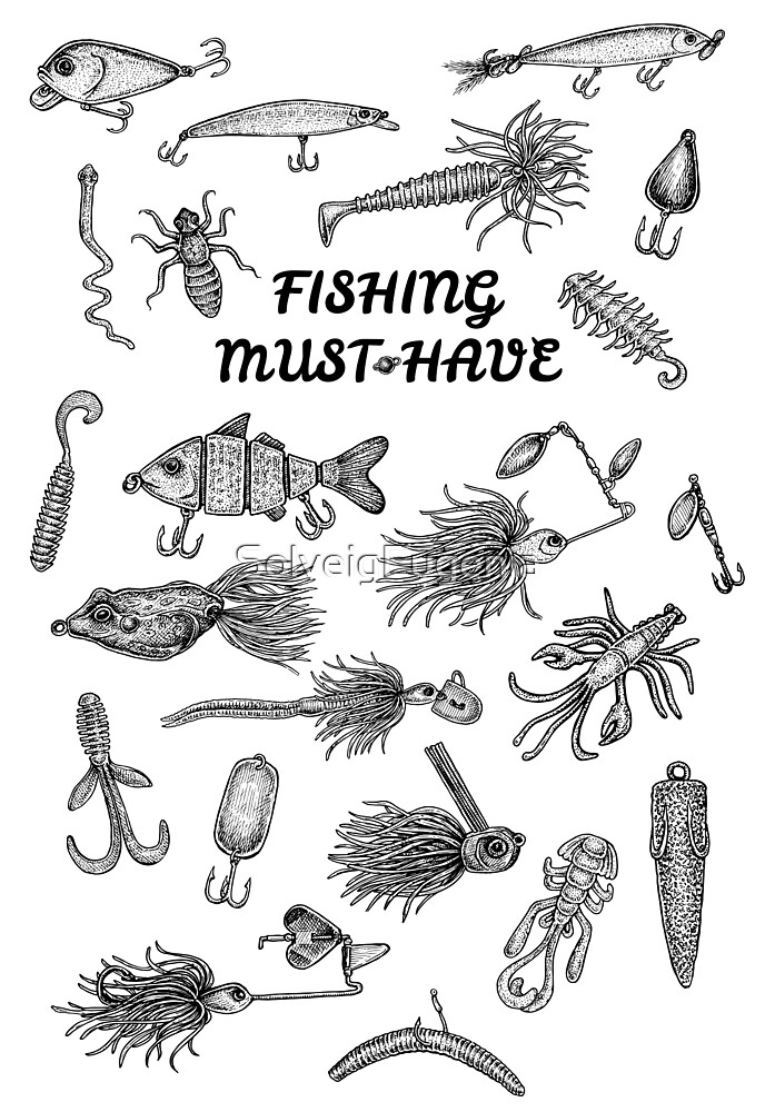 Fishing Must-Have by Eugenia Hauss