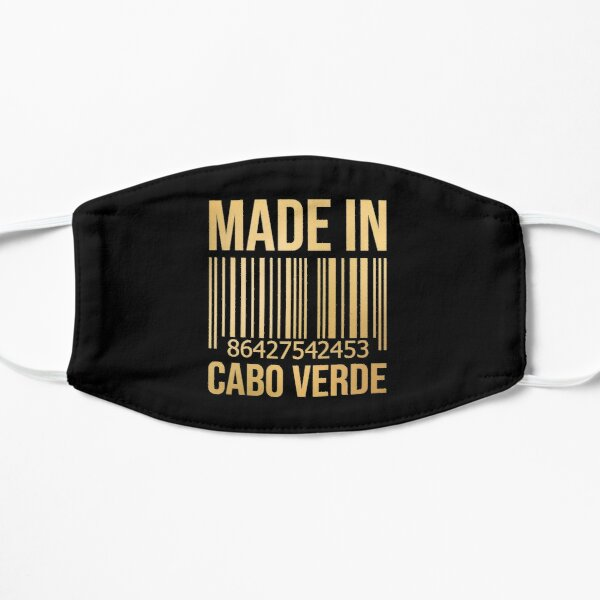 Fabriqué au Cabo Verde en or Masque taille M/L