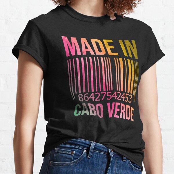 Fabriqué au Cap-Vert à l'aquarelle T-shirt classique