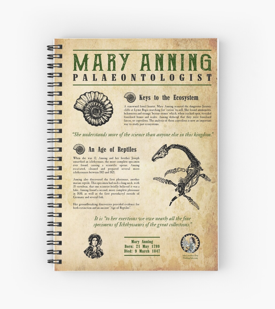 Mary Anning: Palaeontologist by AdaLovelaceDay