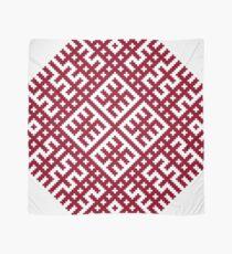 Lielvarde Latvian Symbol Design Scarf