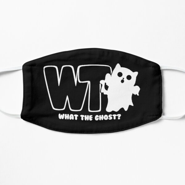 What The Ghost? - Light Flat Mask