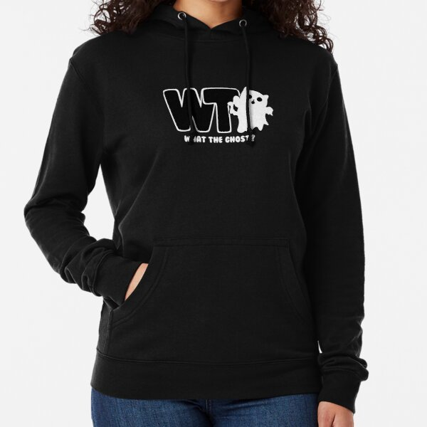 What The Ghost? - Light Lightweight Hoodie