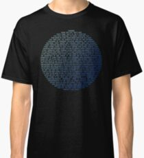 Pale Blue Dot - Carl Sagan Classic T-Shirt