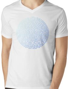 Pale Blue Dot - Carl Sagan Mens V-Neck T-Shirt