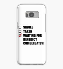 Waiting For Benedict Cumberbatch Samsung Galaxy Case/Skin
