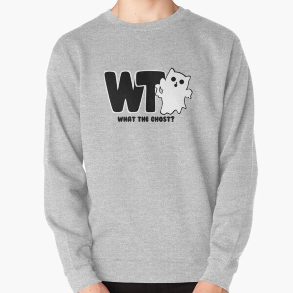 What The Ghost? Dark Pullover Sweatshirt