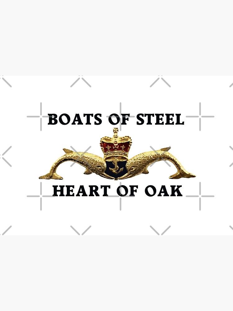 Boats of steel, Heart of Oak by skanner30