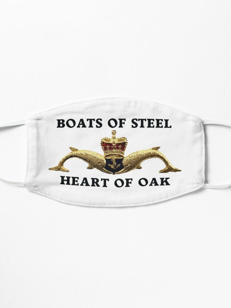 Alternate view of Boats of steel, Heart of Oak Mask