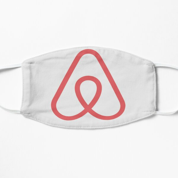 Airbnb Logo Icon Gift for Airbnb fan Flat Mask