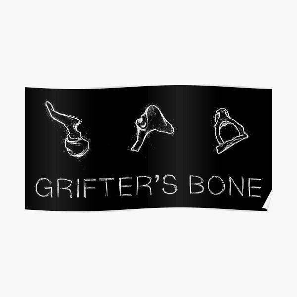 Grifters Bone - Light Logo Poster