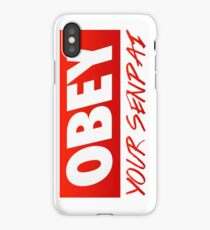 OBEY your senpai. iPhone Case/Skin