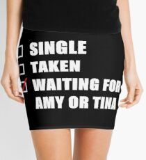 Waiting For Amy or Tina Mini Skirt