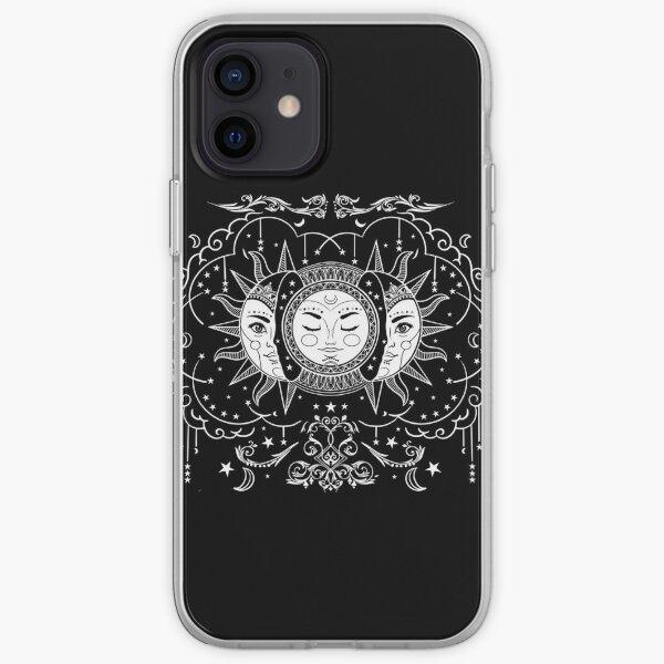 Sun And Moon - Tarot - Astrology  iPhone Soft Case