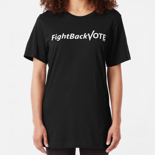 FightBackVote.com-shirt Slim Fit T-Shirt