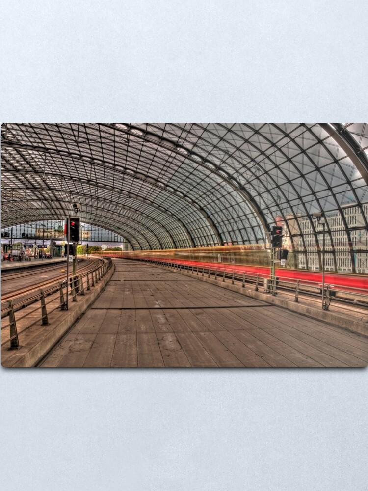 Alternate view of Hauptbahnhof Berlin Metal Print