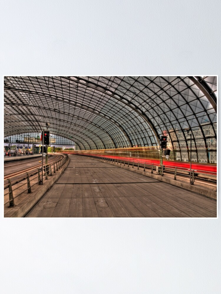 Alternate view of Hauptbahnhof Berlin Poster
