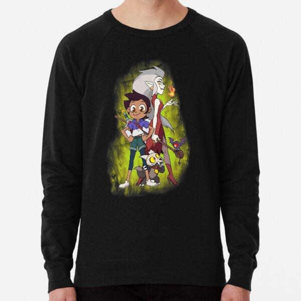 Eda King and Luz (The owl house) Lightweight Sweatshirt