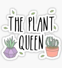 Pegatina The Plant Queen