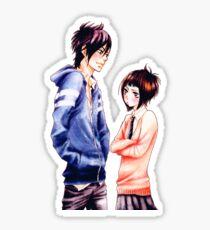Anime Couple Suki-tte ii na yo Sticker