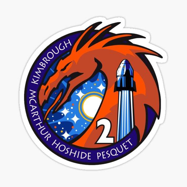 Spacex Crew-2 Mission Logo NASA Patch Sticker