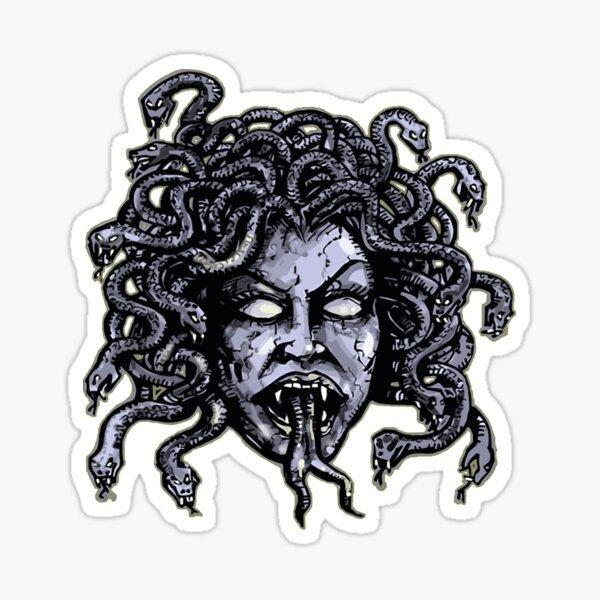 Medusa Gorgon Sticker
