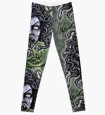Medusa Gorgon Leggings