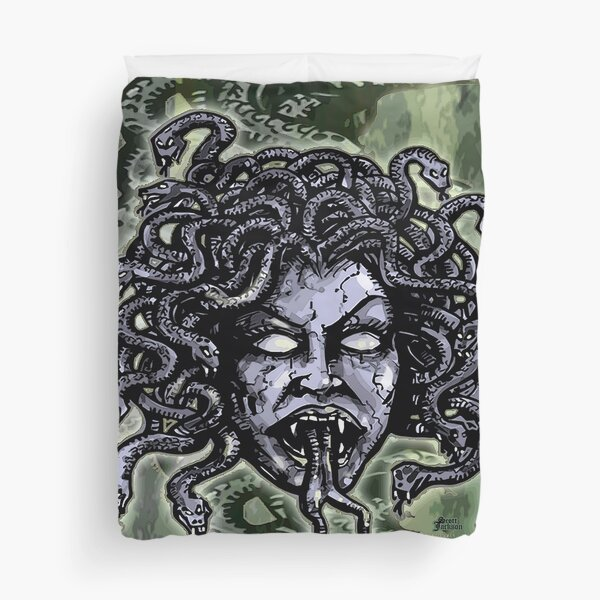Medusa Gorgon Duvet Cover
