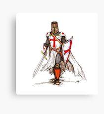 Lienzo Caballero Templario