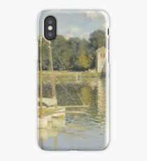Claude Monet - Le Pont d'Argenteuil, Monet iPhone Case/Skin