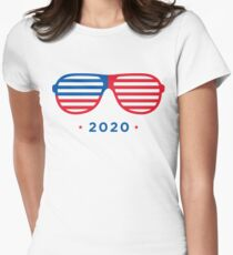 Shady President Kanye 2020 Womens Fitted T-Shirt