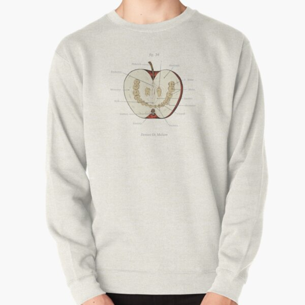 The Magnus Archives - Anatomy Class - Teeth Apple Pullover Sweatshirt