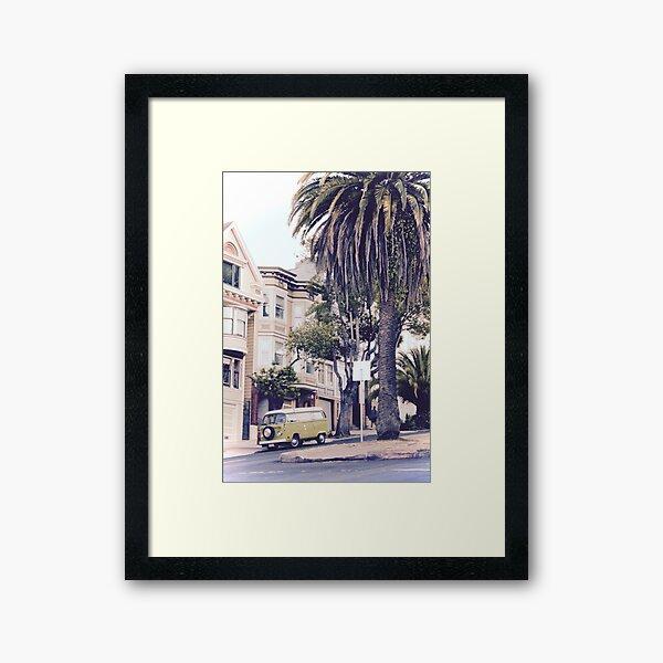 Grüner Van 2 in San Francisco, Kalifornien Gerahmter Kunstdruck