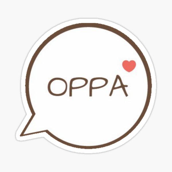 OPPA - Pink Sticker