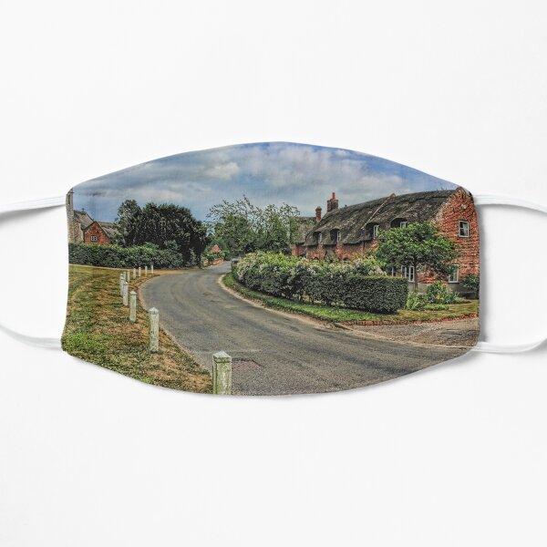 Woodbastwick village and church Flat Mask