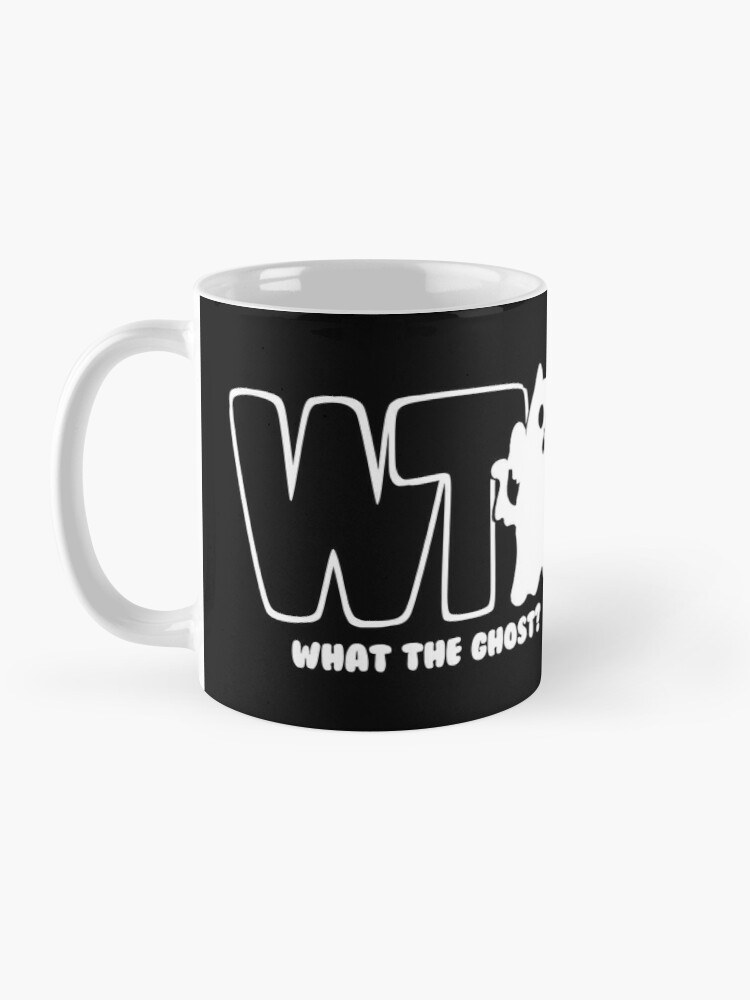 Alternate view of What The Ghost? - Light Mug