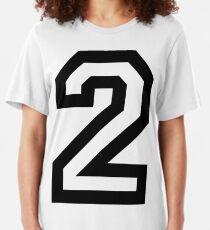 Nummer zwei Slim Fit T-Shirt