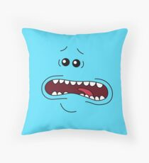 I'M MR. MEESEEKS! LOOK AT ME! Throw Pillow