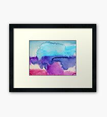 Watercolour abstract 2 Framed Print