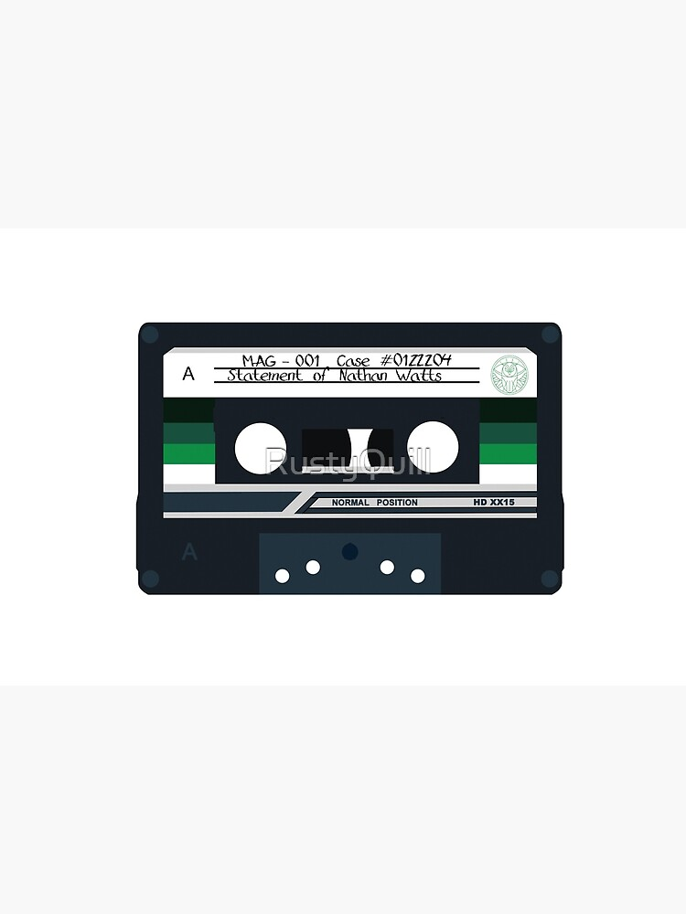 MAG 001 - Statement of Nathan Watts - Cassette by RustyQuill
