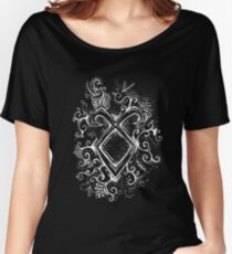 Angelic Rune Mandala- Inverted Women's Relaxed Fit T-Shirt