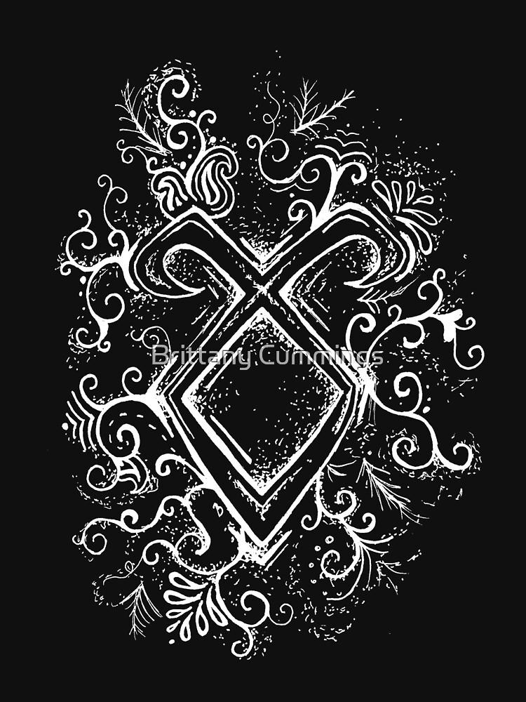 Angelic Rune Mandala- Inverted by cummingsinkart