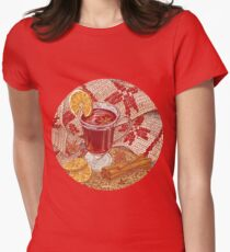 Mulled Wine Women's Fitted T-Shirt