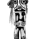 Native American Minotaur  by PeterAndrew
