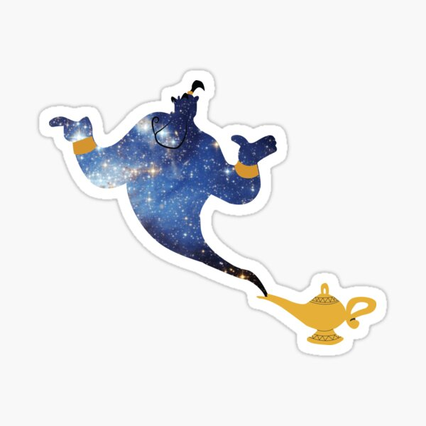 Genie - Galaxy Sticker