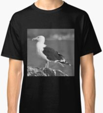 B\W Up Close Gull Classic T-Shirt
